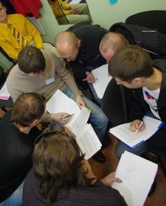 Так проходил открытый тренинг в Минске